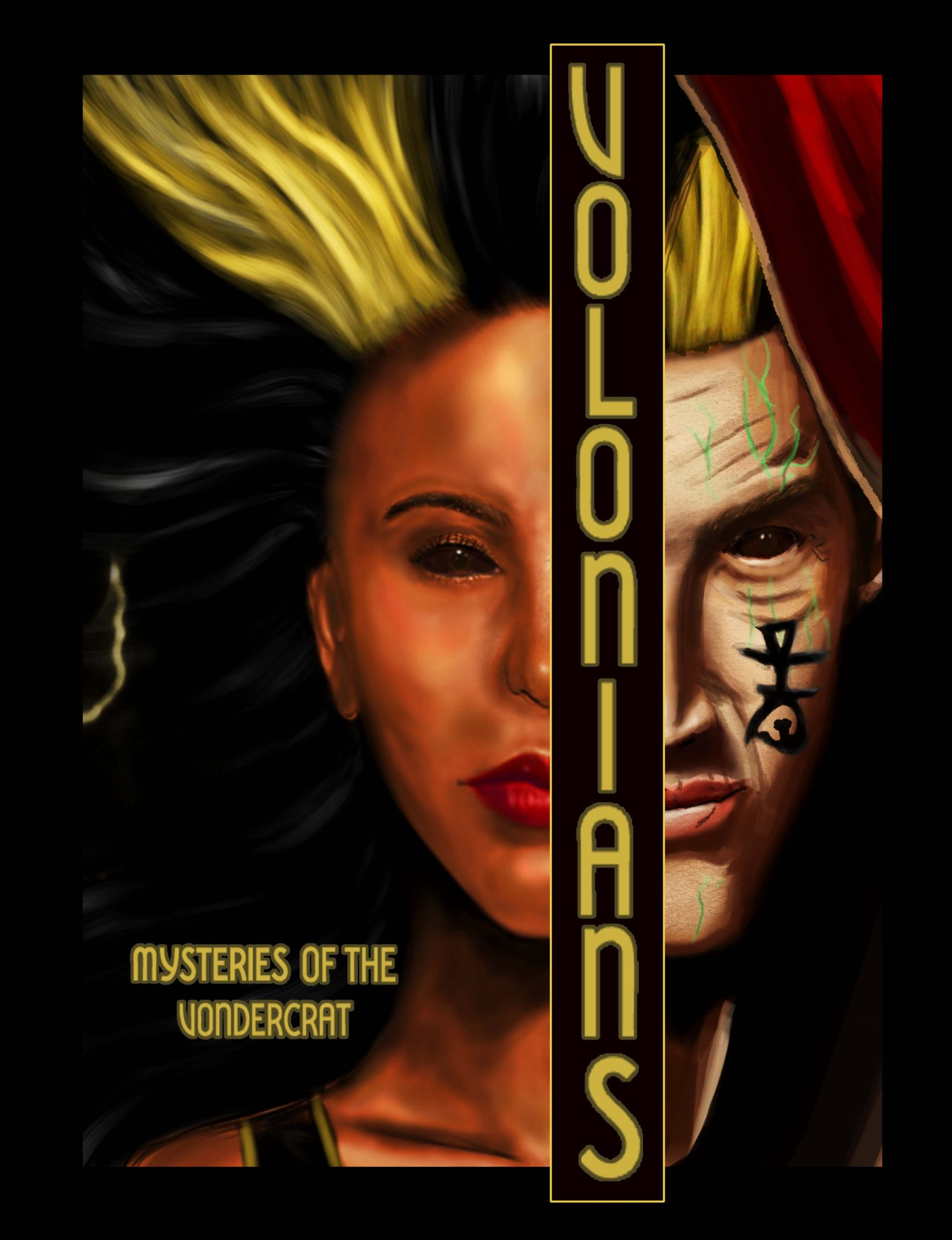 Volonians: Mysteries of the Vondercrat by Christopher F. Edwards Jr