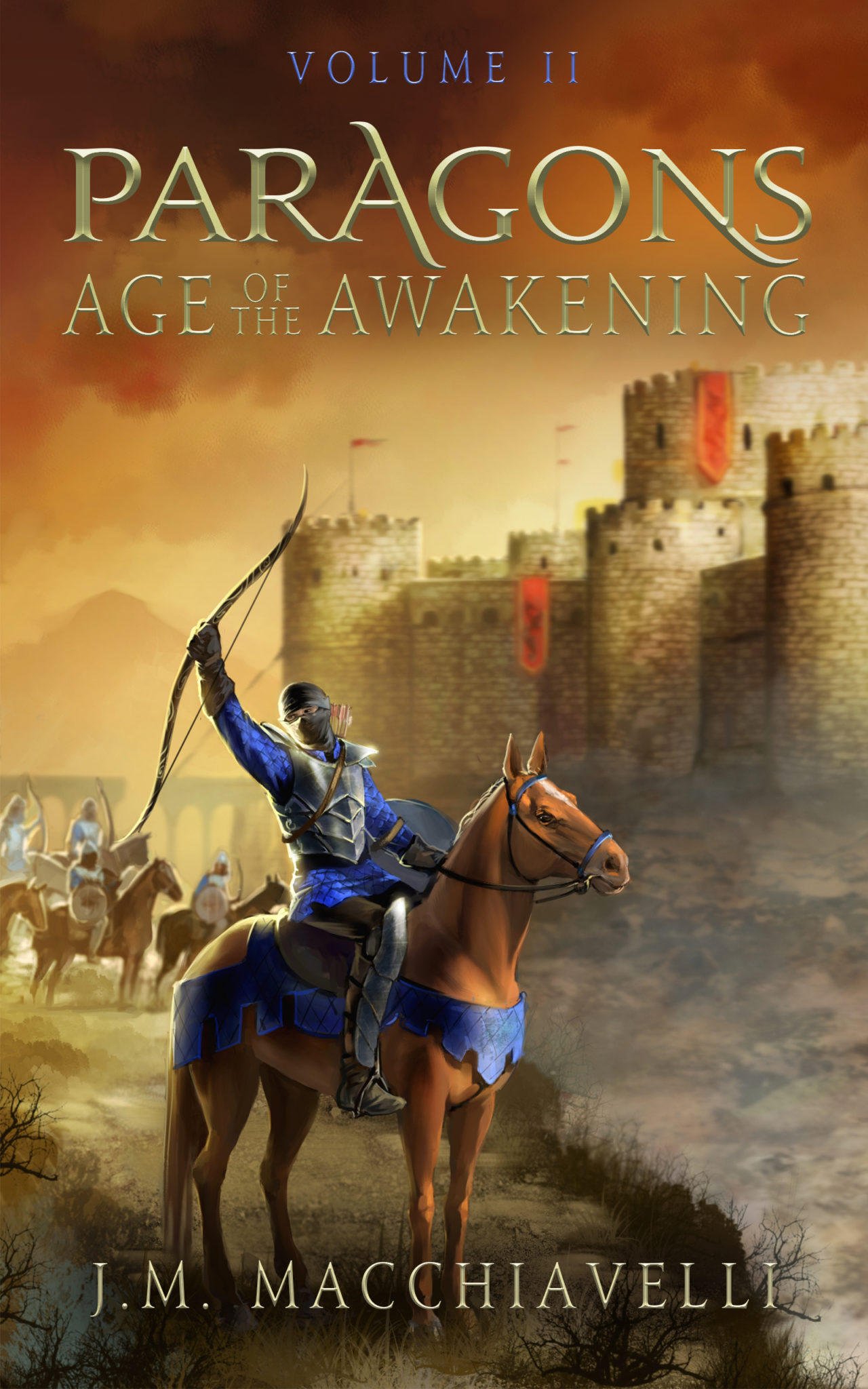 Paragons: Age of the Awakening Volume II by J.M. Macchiavelli