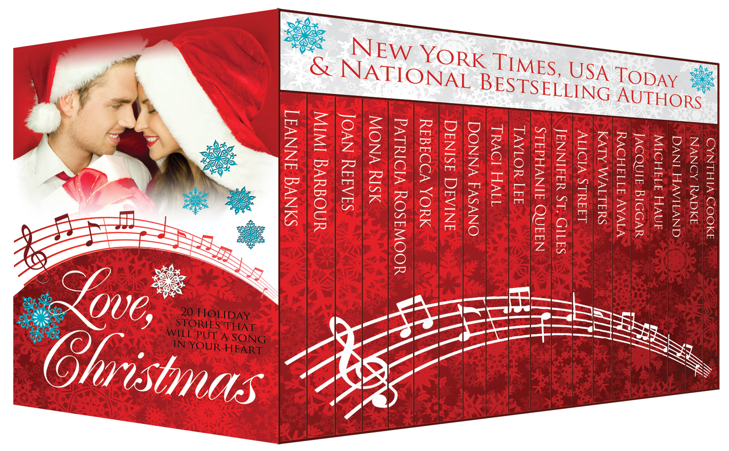 Love, Christmas by Mimi Barbour & 19 other authors from Authors' Billboard