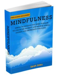 FREE: Mindfulness. Simple Techniques You Need To Know To Live In The Moment, Relieve Stress, Anxiety And Depression For Good by Sarah Jones by Sarah Jones