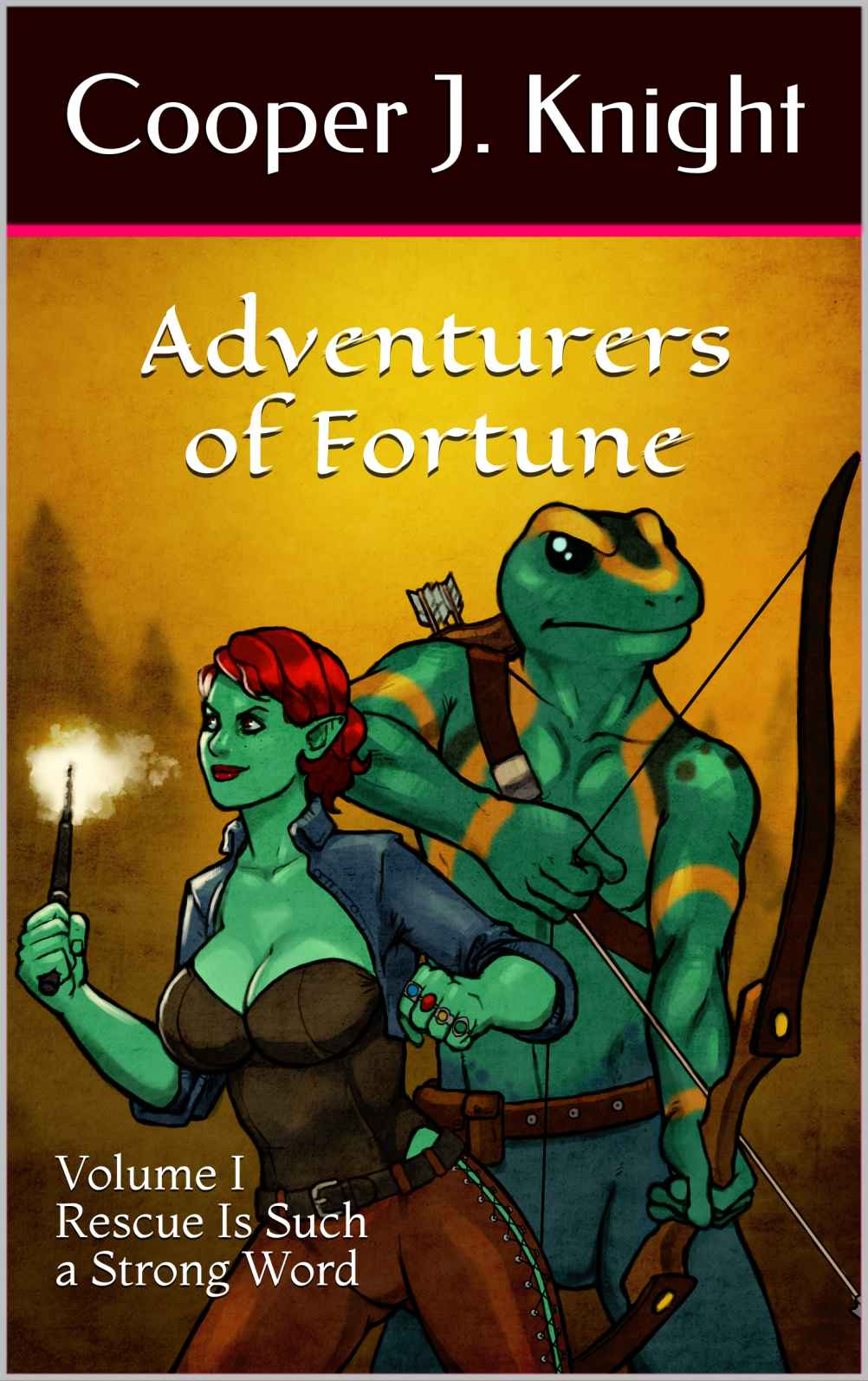 Adventurers of Fortune: Rescue Is Such a Strong Word by Cooper J. Knight