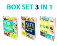 FREE: Keto Diet Cookbook: 3 in 1 Box Set – Keto Breakfast Cookbook, Keto Dinner Cookbook, Keto Desserts Cookbook by S.J. Cook